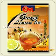 Instant Ginger Lemon Tea
