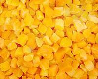 IQF apricot cubes