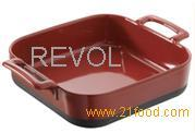 DEEP SQUARE BAKING DISH BCE1520 RED