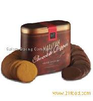 Large Seasonal & Collector Seasonal: Chocolate Dipped Spice Cookies