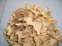 Dry ginger slices
