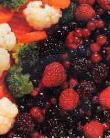 Быстрозамороженные фрукты и ягоды глубокой заморозки