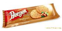 Hazelnut cookies foil