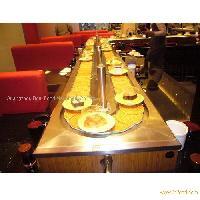Rotary sushi conveyor