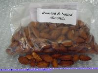 Salt roasted almonds