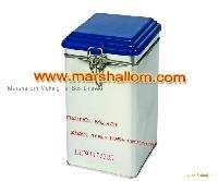 tea box, tin box, packaging tin