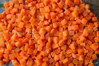 Frozen Carrot Dices 10X10MM