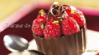 Chocolate and Raspberry cup