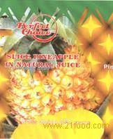 Slice pineapple