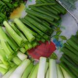 IQF   зеленый   лук  нарезать