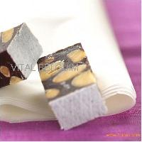 Chunky chocolate nougat