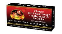 Chinese Red Panax Ginseng Royal Jelly & Bee Pollen with FDA approval