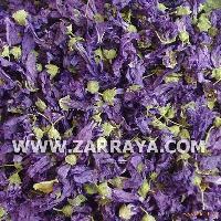 Blue Malva Flowers