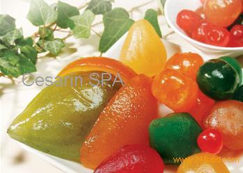 is sugar from fruit healthy candied fruit