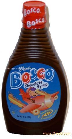Bosco Chocolate Syrup From Netherlands Ag Bosco