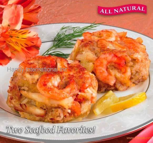 Crab Cakes With Shrimp Mousse Recipe
