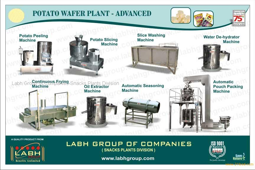 potato chips manufacturing process pdf