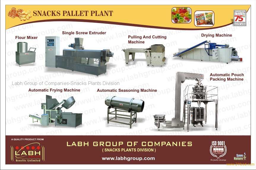 Snacks Pallet plant