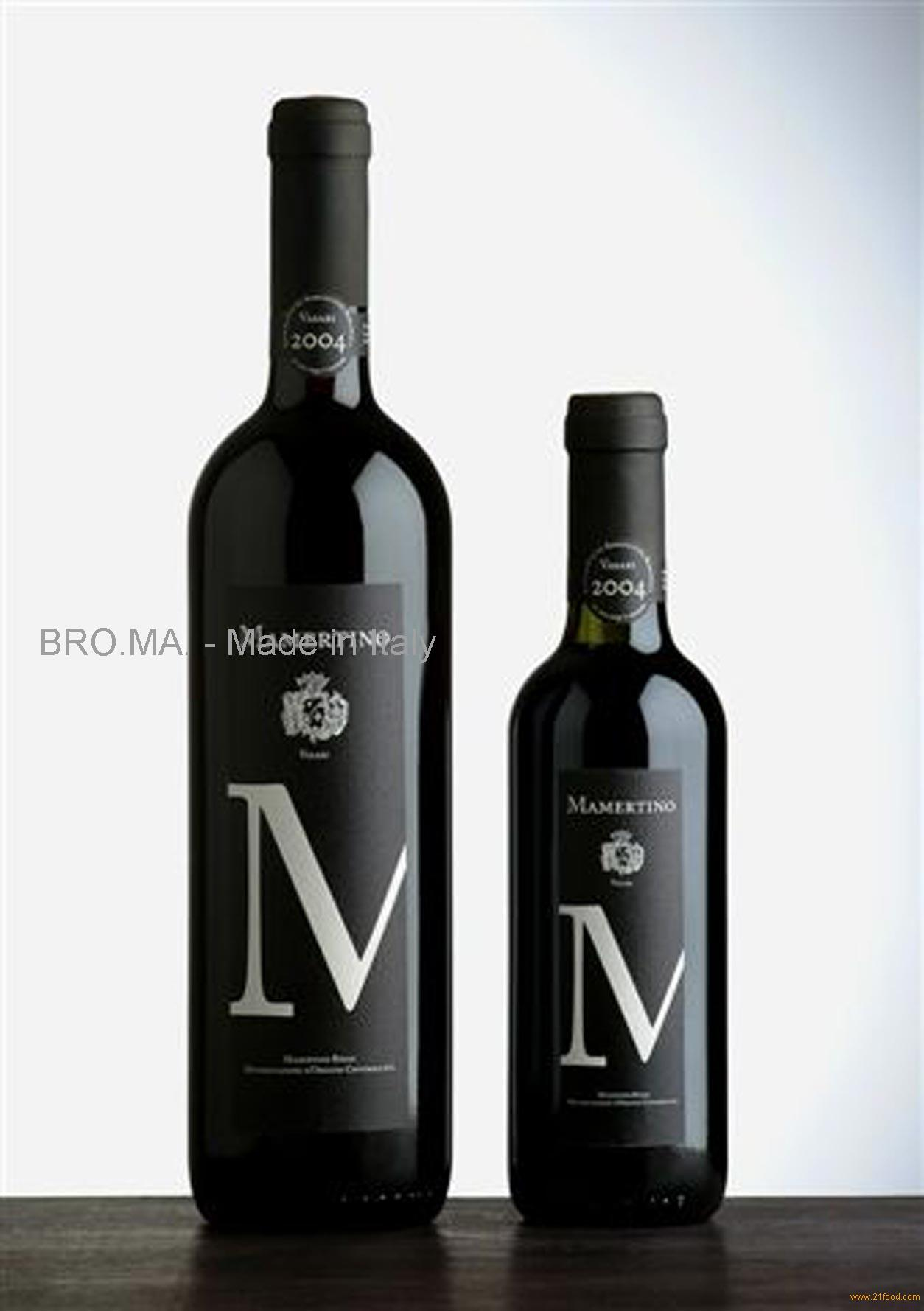 Mamertino Rosso Red Wine Products Italy Mamertino Rosso