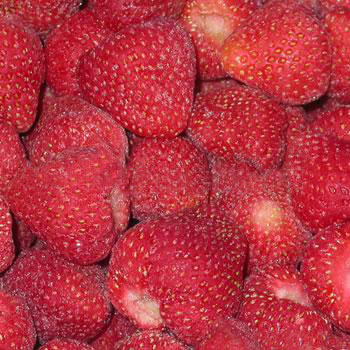 IQF strawberry whole