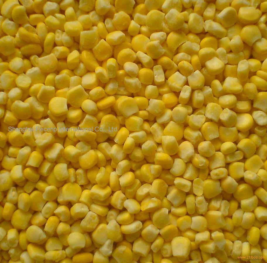 IQF sweet corn kernel