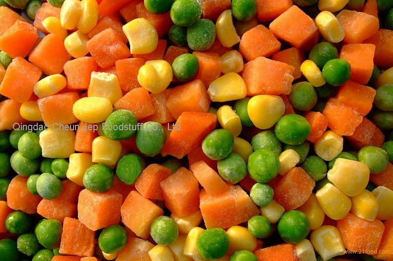 HOT SELLING Frozen Mixed Vegetables(peas,carrot,corn) from China ...
