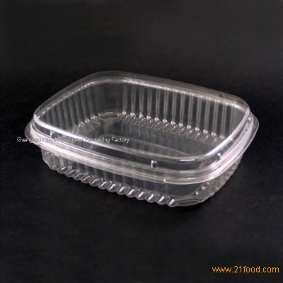 Disposable Plastic Food Container Fruit Box Products